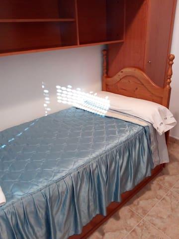 Cama individual 16€por noche