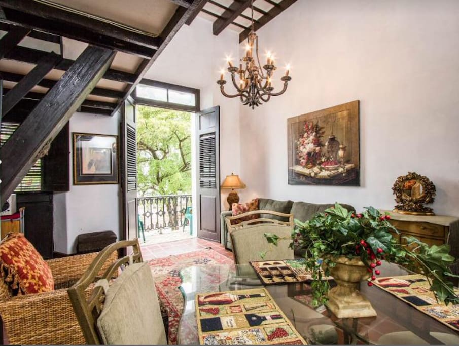 Casa Yady surrounded with old world charm and comfort.