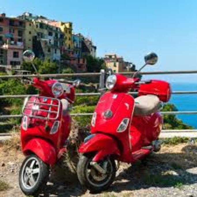 """""""CINTOI RENT"""" La Spezia rent a scooter"""