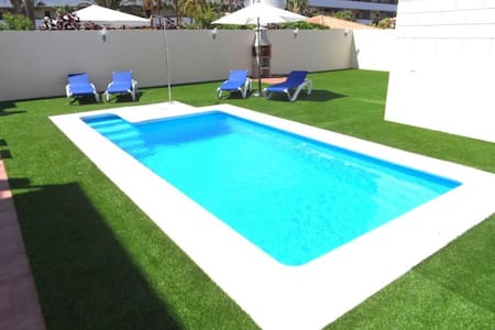 FABULOUS DUPLEX C9 WITH PRIVATE POOL AND CAR INCLUDED !!!