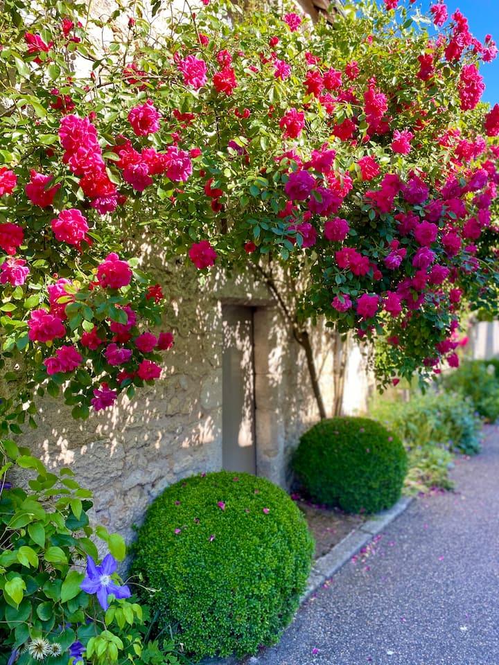 Le Lavoir aux Roses, gîte*** au cœur de Chédigny