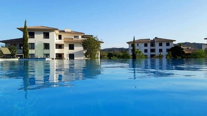 Appartement 123 Domaine d'Arca piscine et tennis