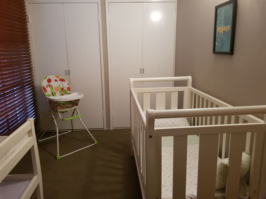 Well equipped nursery