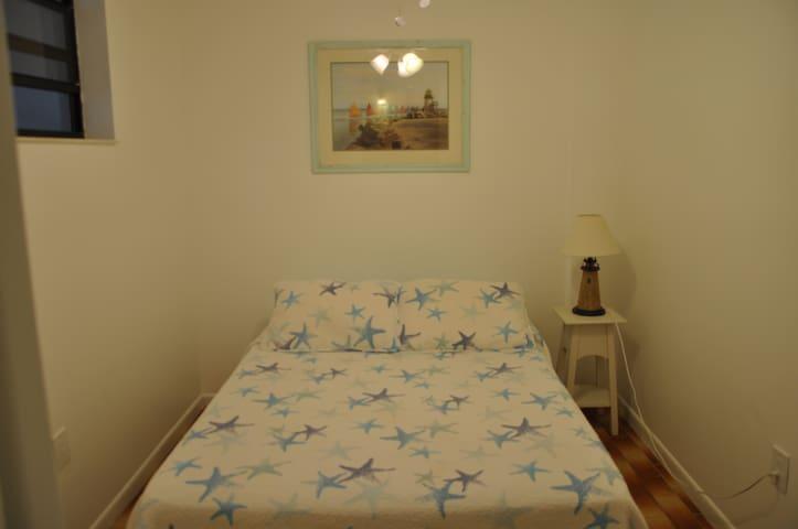 1st floor bedroom with 1 full bed