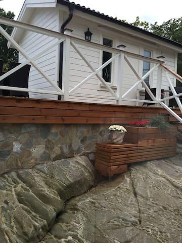 Stuga i toppskick. - Gothenburg - Guesthouse