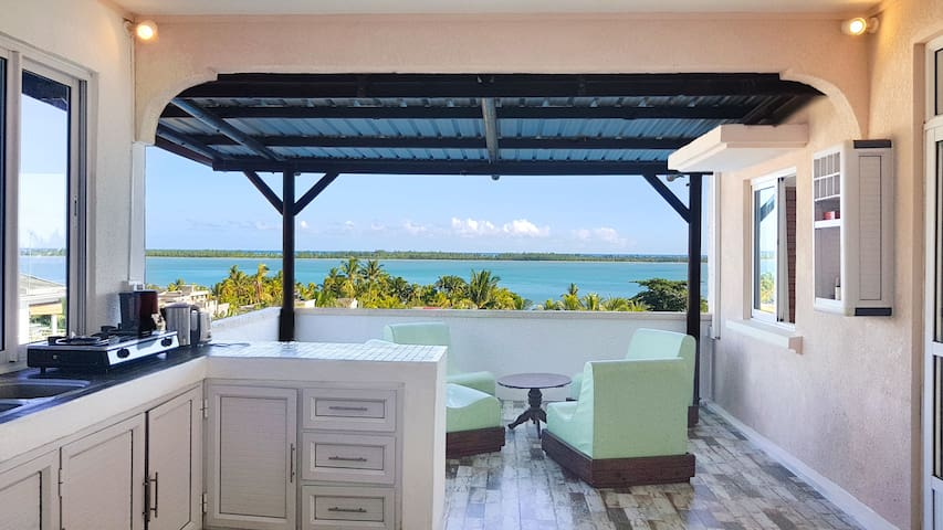 ▶ Private Apt ★ WOW sea view ★ Close to Le Morne
