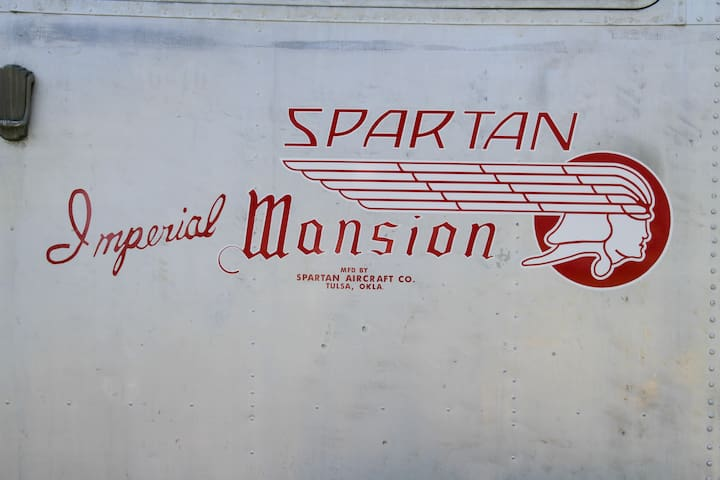 Trailers by the Spartan Aircraft Co. post WWII