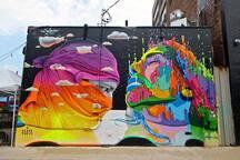 Bushwick is famous for its world-class street art!