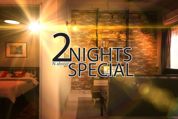 25@ 5mins walk to Jonker St. 2 nights special