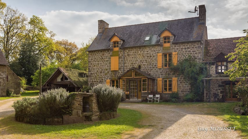 Private rooms in Brittany - At the lake house