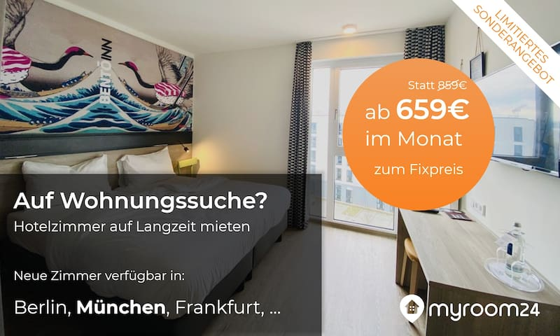 **LONG TERM**MUNICH CITY**FREE WIFI**418