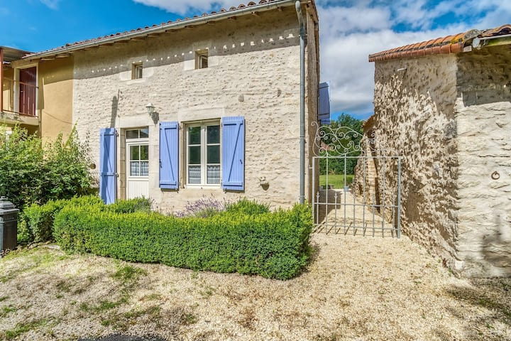 Holiday Home with Private Swimming Pool, close to Poitiers, France.