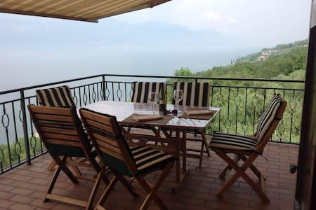 Villa with lake view terrace and pool - Torri del Benaco - Villa