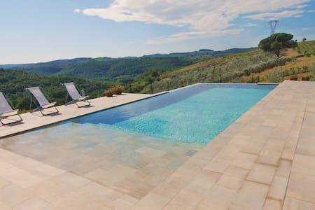 Villa con piscina privata vicino FI - ฟลอเรนซ์