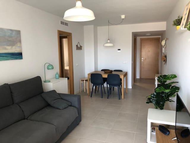 Acogedor apartamento nuevo ideal familias
