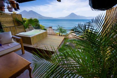 1 bd-1 bath home with hot tub & breathtaking views