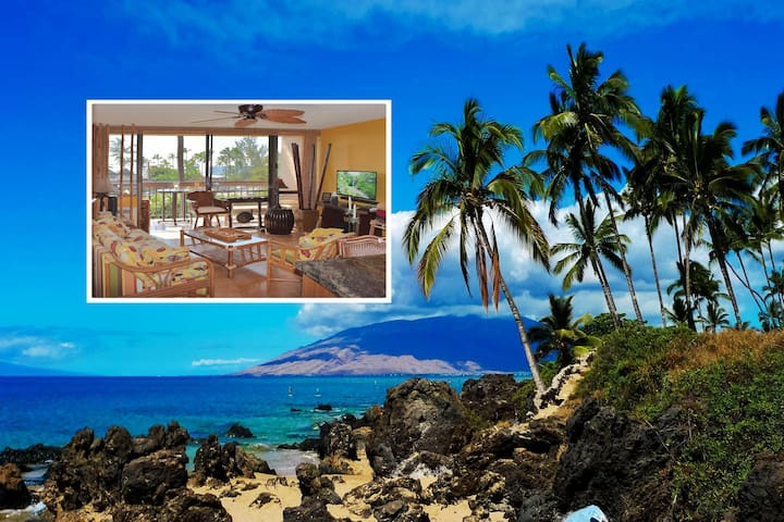 1 BR Tiki-Style Condo at Maui Vista steps to beach - Kihei - Condominium
