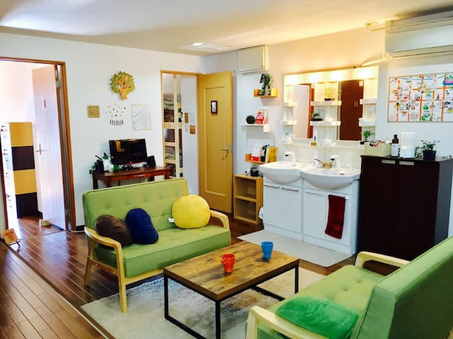 Guest House Sumicco☆Room3 Women Only 7min to Namba