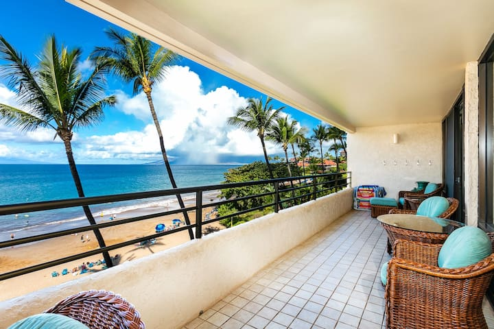 Wow!  Beachfront location! Stunning Views! PB 405