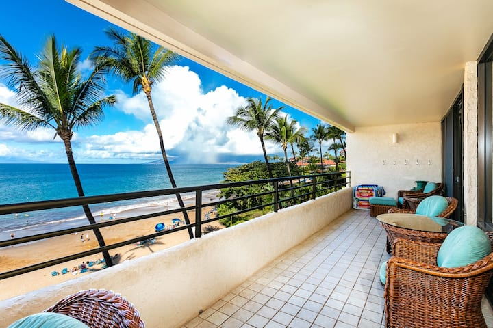 Wow!  Beachfront location! Stunning Views! PB 405