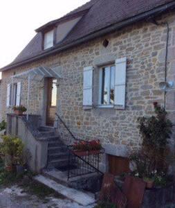 Gite rénové proche de Saint-Céré - Saint-Jean-Lagineste - Дом