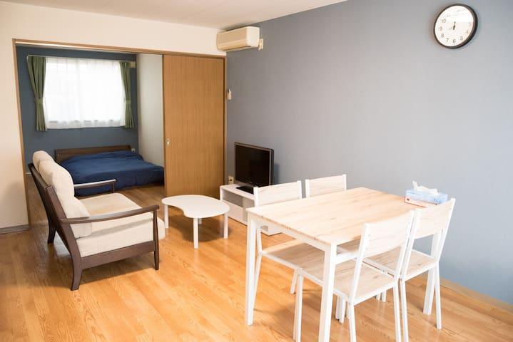 テレワーク可 102 2 bedroom Asahikawa w/parking