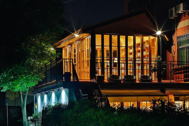 在厦门最美公益图书馆主人家里(厦门北),感受大爱、文艺、静谧的美好生活 - 厦门 - Vila