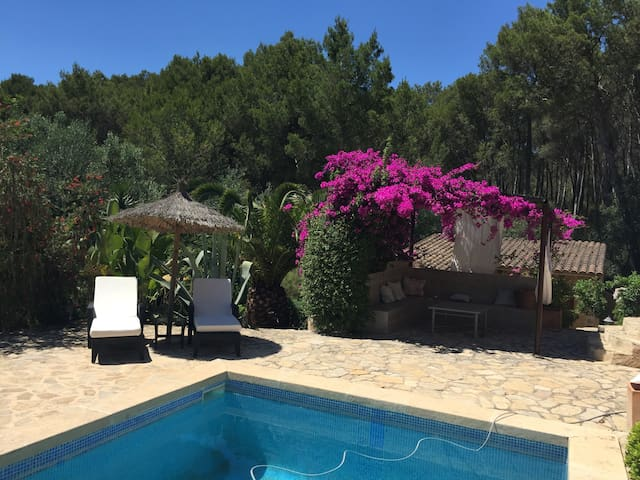 SMALL PARADISE IN THE MIDDLE OF MALLORCA - ALGAIDA - Ev