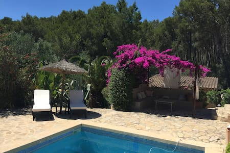 SMALL PARADISE IN THE MIDDLE OF MALLORCA - ALGAIDA - Casa