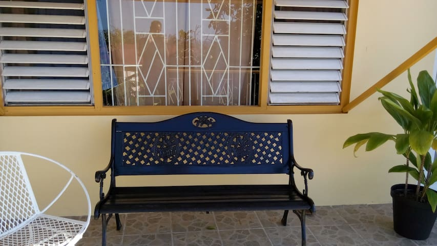 Balcony with adequate seating for you