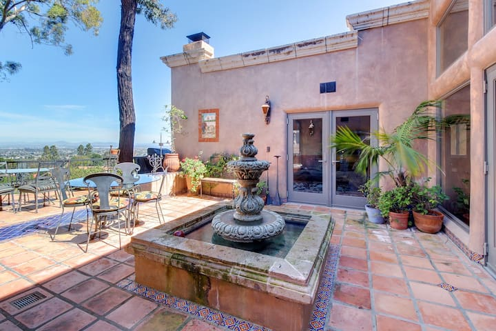 Beautiful and luxurious Spanish colonial masterpiece w/ private hot tub