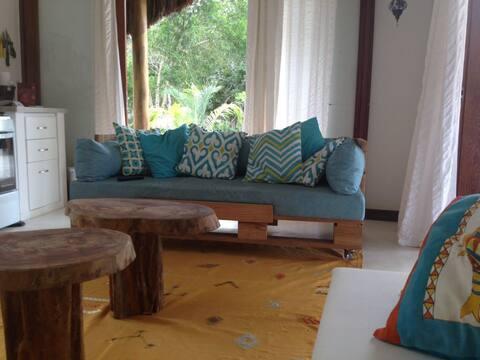 Casa charmosa na Praia de Santo Andre/ Bahia
