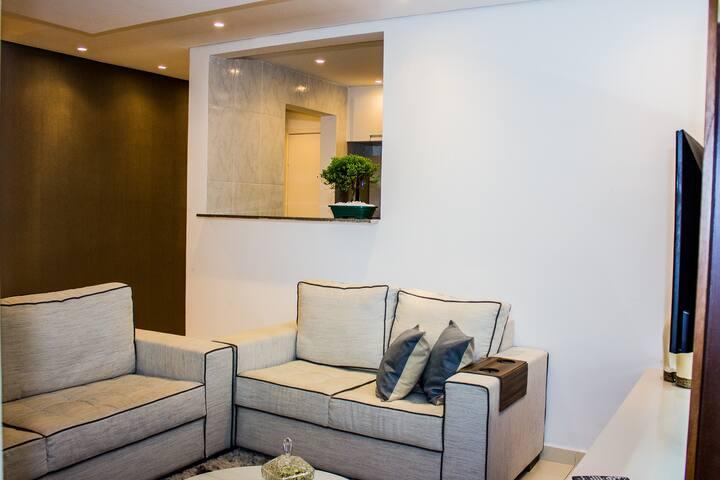 Habitación Doble con baño privado - Belo Horizonte - Departamento