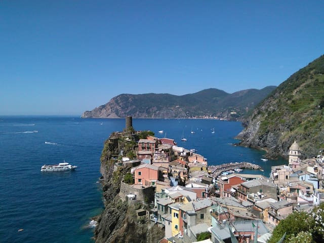 Emilio Rooms - Center of Vernazza Cinque Terre