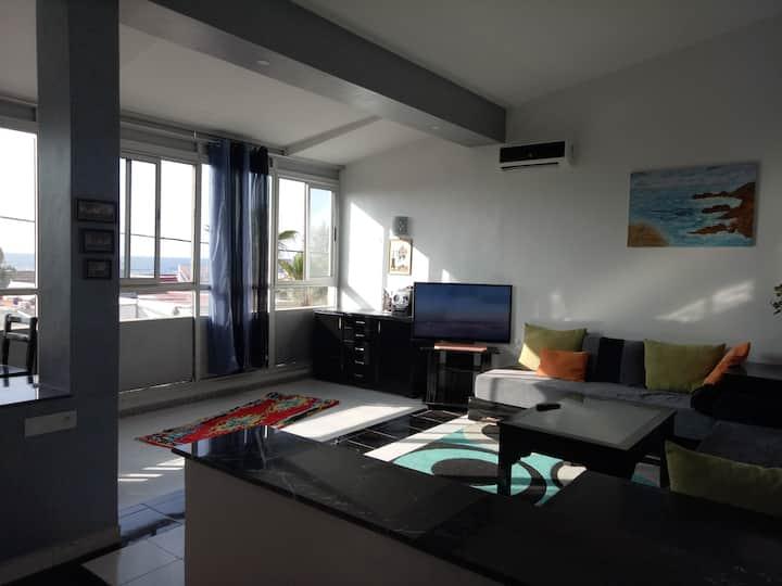 Très belle villa à plage David bouznika