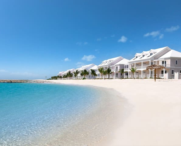 Paradise Blue Villa  -  White Sand Beachfront Home