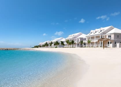 Paradise Blue Villa  -  White Sand Beachfront Home