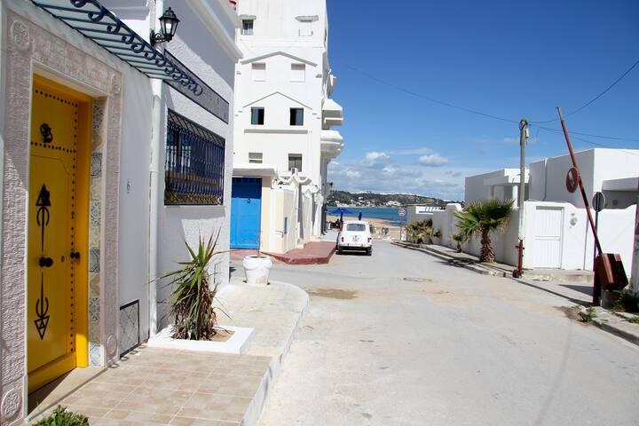 La maison de la plage