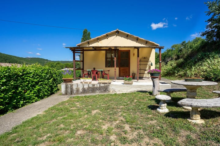 Pleasant Holiday Home in St. Maurice D'ibie with Garden