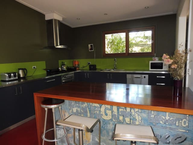 Private double room, leafy garden - Lilyfield - Casa