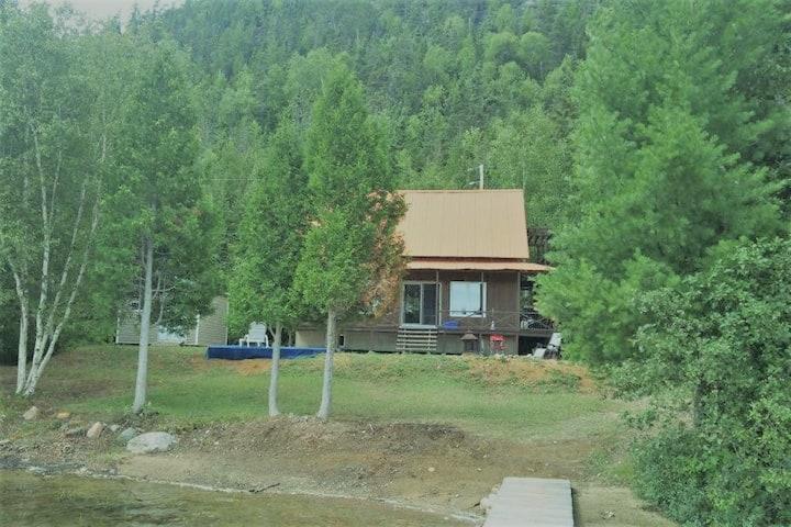 Chalet Les Moscato,Lac privé,Tadoussac,Québ.Canada
