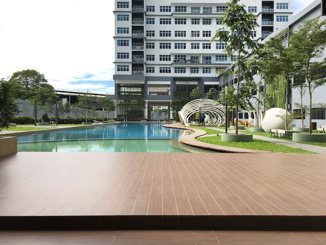 Whole unit with fantastic view - Puchong - Condominium