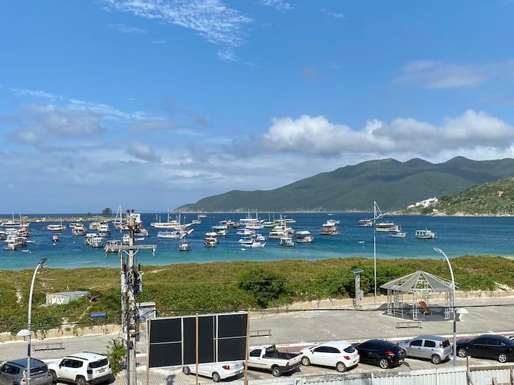 Apartamento de frente ao mar - Praia dos Anjos RJ