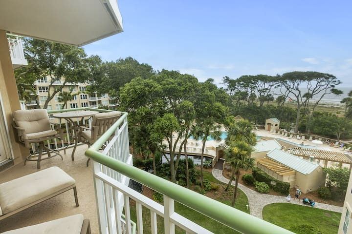 405 WINDSOR PLACE - GORGEOUS OCEAN VIEW VILLA IN PALMETTO DUNES!