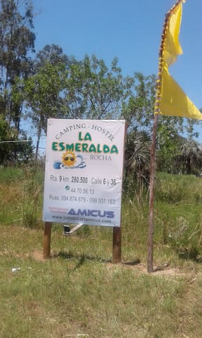 Hostel La Esmeralda. Balneario Oceanico, Rocha. - UY - Hostel