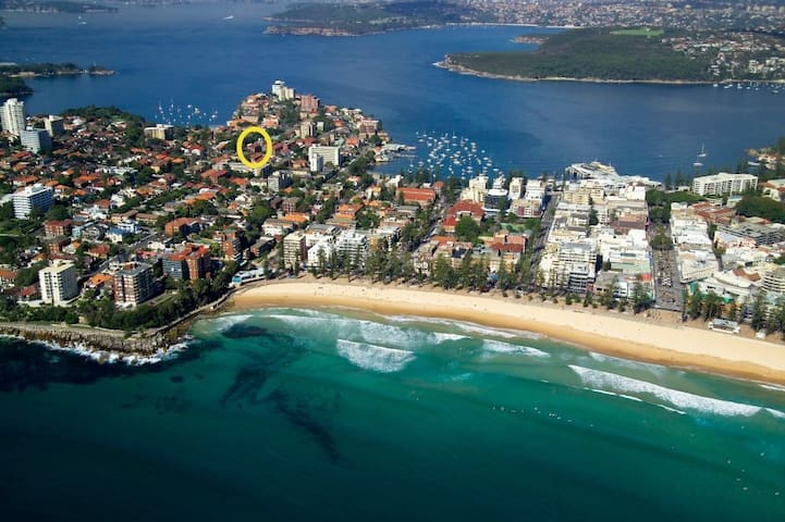 Beautiful 3 bedroom unit, close to all beaches - Manly - Apartment