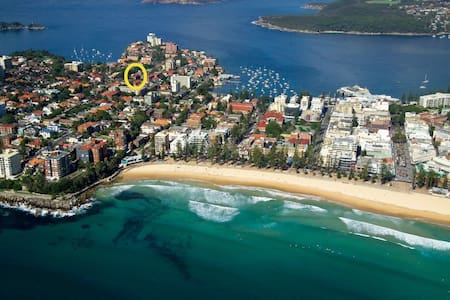 Beautiful 3 bedroom unit, close to all beaches - Manly - Lejlighed