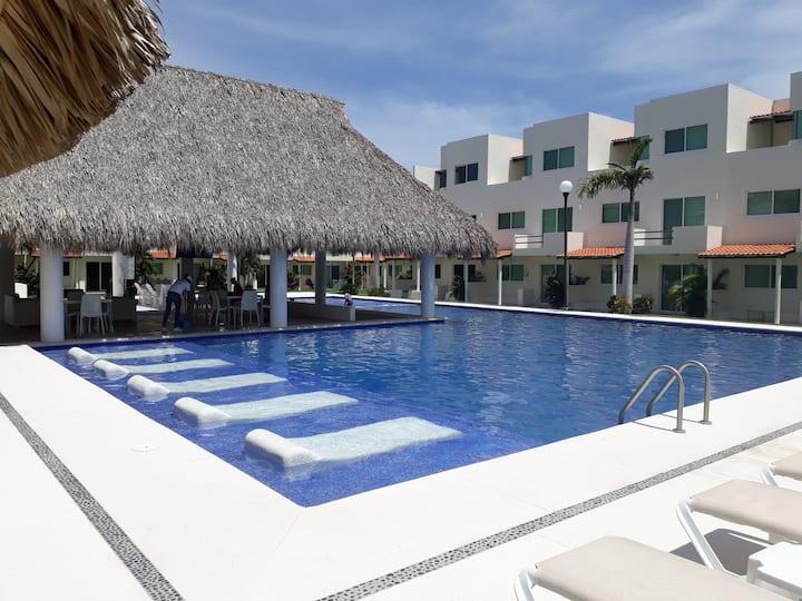 Hermosa y tranquila casa en Acapulco Diamante