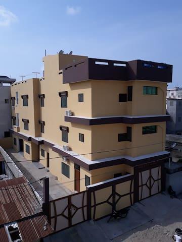 Guest house moderne au centre de Cotonou