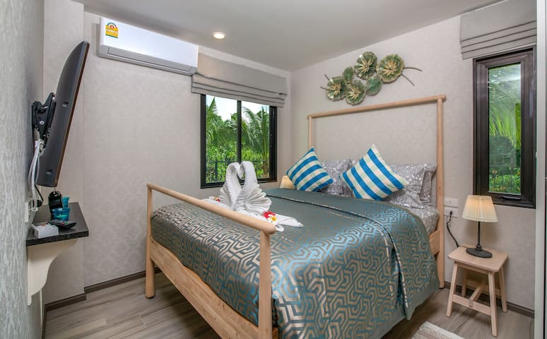 Separate Bedroom 2 with comfortable queen size bed